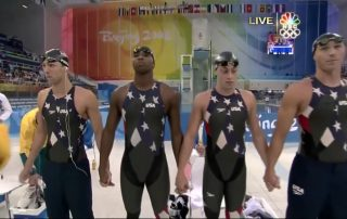 Cullen Jones Mens Freestyle relay 2008 Beijing YouTube