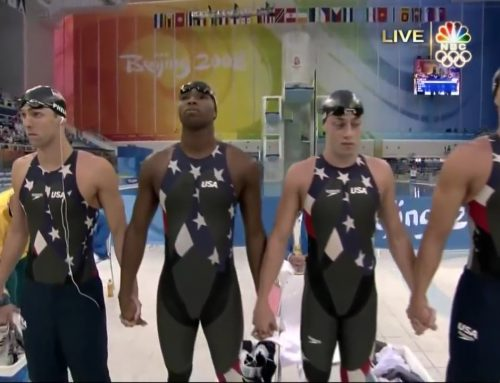 Cullen Jones – Men's 4×100 freestyle relay Beijing 2008