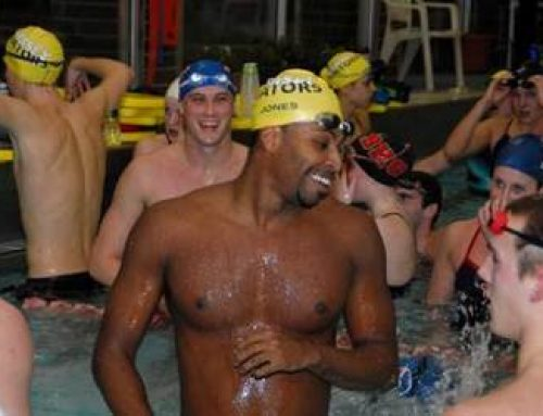 Olympic gold medalist Cullen Jones returns to practice with Gators in Cranford